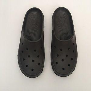 Woman's CROCS Slip On Mules clogs Shoes